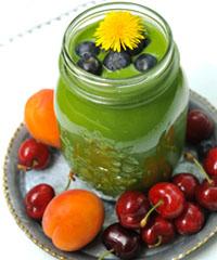 Аби зелений смузі відповідав назві, має значення основний інгредієнт.
