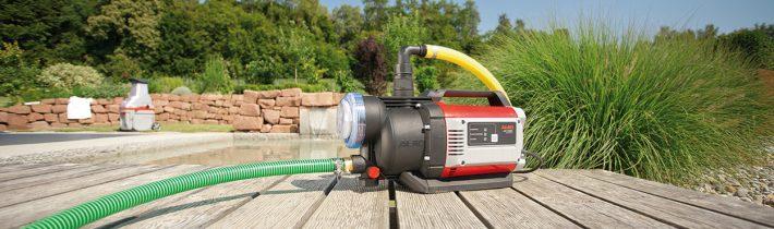 Садові насоси та насосні станції AL-KO: використовуйте воду раціонально