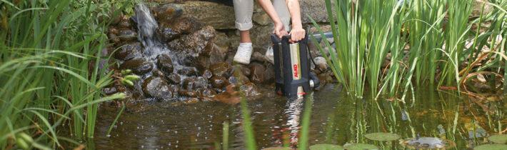 Полезные советы AL-KO: естественная борьба с водорослями в пруду