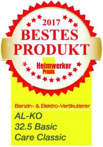 Електричний аератор AL-KO 32.5 VE Basic Care Classic