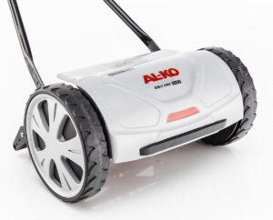 Резиновый бампер газонокосилки AL-KO Razor Cut 28.1 HM Easy увеличивает надежность устройства.