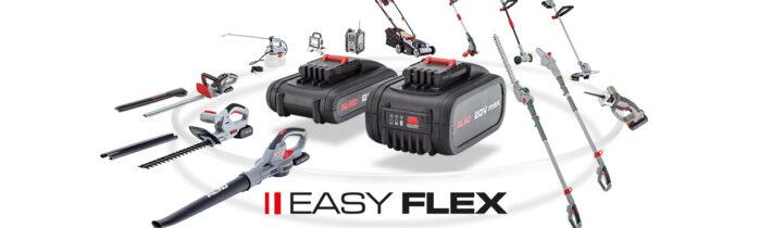 Сімейство Easy Flex: базова серія легкої акумуляторної техніки AL-KO
