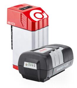 Для профессионального использования применяют технику с аккумуляторами Energy Flex и Power Flex.ё