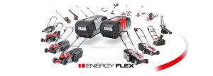 Серія Energy Flex: універсальний набір садових інструментів на 40-вольтових акумуляторах