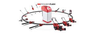 Серия Power Flex: профессиональный аккумуляторный инструмент максимальной мощности