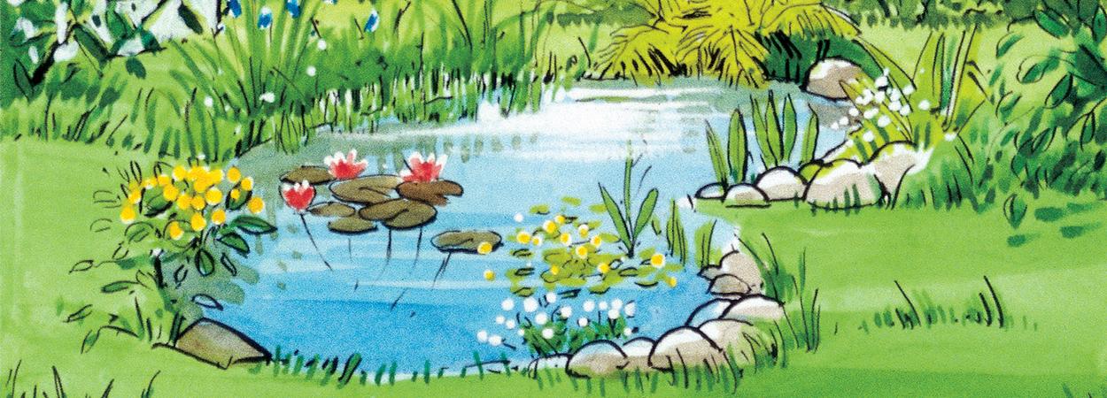 Садовый пруд AL-KO: как украсить декоративный водоем