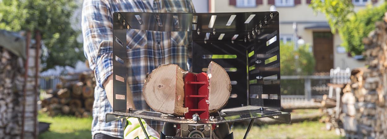 Гидравлические дровоколы AL-KO: станки для колки дров