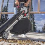 Техника для осенней уборки: как выбрать и купить садовый пылесос